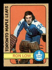 1972-73 O-Pee-Chee #258 Ron Low RC  EXMT+ A1105457