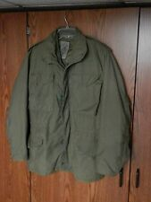 US Army M-65 Vintage Military Field Jacket size SMALL REGULAR liner Vietnam era