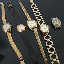 Lot de 5 Montres Bracelet De Dame Vintage Batch 5 Watch