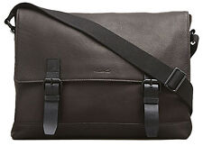 Kenneth Cole New York In Case You Mess-ed It Flapover Messenger Bag - Brown