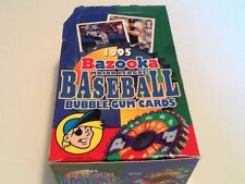 RARE 36pk Box 1995 Bazooka MLB Major League Baseball Bubble gum cards