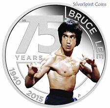 2015 BRUCE LEE Silver Proof Coin