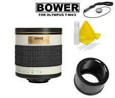 Bower 500mm f/6.3 Telephoto Mirror Lens for Olympus PEN E-PL8 E-PL7 E-PL6 E-M10