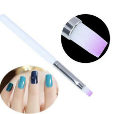 14.5cm Nail Art Liner Tips White Handled Nail Painting Drawing Pens Brush Tools