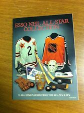 1988 ESSO NHL ALL-STAR COLLECTION ALBUM COMPLETE WITH 53 STICKERS MINT CONDITION