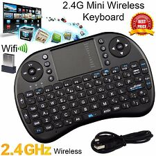 2.4G Wireless Mini Keyboard Handheld Touchpad Keyboard Mouse for Android M2S PC
