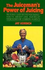 The Juiceman's Power of Juicing, Kordich, Jay, 0688114431, Book, Acceptable