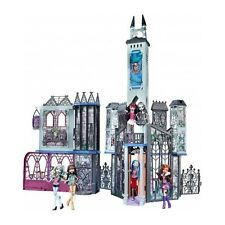 Monster High School Playset Doll House Deadluxe Castle Girls Accessories Haunted