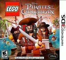 LEGO Pirates of the Caribbean: The Video Game (Nintendo 3DS, 2011) NEW