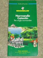 Michelin 'Green' Tourist Guide to Normandy-Cotentin - 1999 edition in French