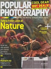 POPULAR PHOTOGRAPHY Sept 2013 Magazine Back Issue Take a Fresh Look at Nature