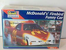 Revell Cruz Pedregon McDonald's Firebird Funny Car Dragster Kit