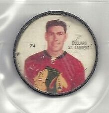 DOLLARD ST LAURENT 1960-61 Salada / Shirriff Coin #74 VG '60 CHICAGO BLACK HAWKS