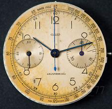 Vintage Dial + movement JAEGER x HAUSMANN &Co movimento UNIVERSAL 285 le coultre