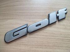 GOLF Emblem Zeichen VW Golf 3 CHROM Schriftzug 1H6853687S