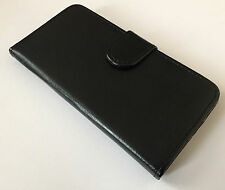 Apple iphone 6 6s 7 4.7  flip stand leather case magnetic wallet cover black