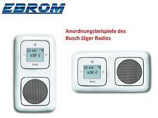 Busch Jäger Radio UP Unterputz Komplett-Set alpinweiß ReflexSI NEU Busch 8215U