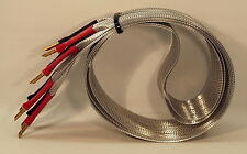NORDOST VALHALLA 1 REFERENCE SPEAKER CABLES, BANANAS, 1.5 METERS, NEAR MINT