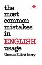Acc, The Most Common Mistakes in English Usage (Schaum's Paperbacks), Berry, Tho