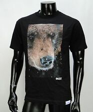 Grizzly Griptape Supply Co. Yosemite Bear Mens Black T shirt Size Medium