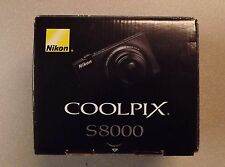 Nikon COOLPIX S8000 14.2 MP Digital Camera - Black