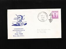 WWII Patriotic Camp Shelby MS 1941 1st Army Tank Rome Italy 55 B.C. Cover 7z