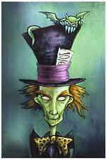 Mad Hatter by Diana Levin Fine Art Print Fairy Tale Gothic Alice in Wonderland