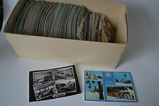 1 Kiste voll mit alten Postkarten Ansichtskarten 3,5 kg ab 40er Jahre