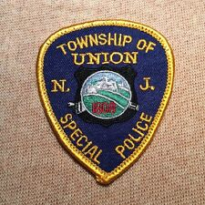 NJ Union Twp. New Jersey Special Police Patch (3In)