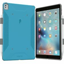 Poetic QuarterBack Bumper  with Pencil Holder Case for iPad Pro 9.7 BLUE/GRAY