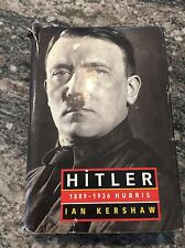 1999 HITLER 1889-1936 HUBRIS Biography Book HC/DJ by IAN KERSHAW
