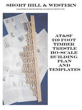 HO Scale Trestle Plans  Build this 210' Long and 80' High Trestle.