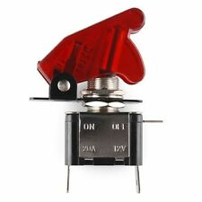 RED LIGHTED TOGGLE SWITCH TOGGLE 12V  20A ON OFF Car Truck Boat ATV Airplane fu