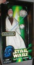 "OBI WAN KENOBI 12"" POTF WITH GLOW IN DARK LIGHTSABER"
