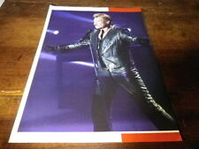 JOHNNY HALLYDAY - Mini poster couleurs 18 !!!!!!!!!!!!!!!
