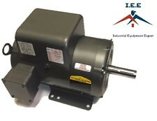 Baldor 7.5 Hp Electric Motor 3450 RPM 184 T Frame 1 Ph Single Phase 208/230 Volt