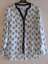 Ladies Pretty Owl Design Top By Laura Ashley Size 10