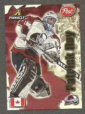 "1997-98 Post Cereals (Canada) ""World's Best"" Insert, Colorado Patrick Roy"