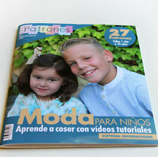 Patrones infantiles revista costura Sewing magazine children patterns autumn '16