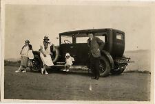 PHOTO ANCIENNE - VINTAGE SNAPSHOT - VOITURE TACOT AUTOMOBILE FAMILLE - CAR 1928