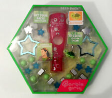 BARBIE GIRLS GREEN DECO PACK WITHN TURTLE CHARM EARBUD ACCESSORIES