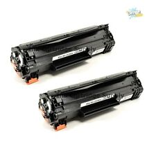 2PK CE285A 85A Black Toner Cartridge for HP LaserJet P1102W
