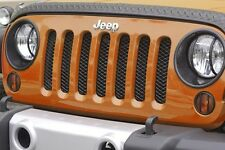 Mesh Grill Insert Screen Fits: Jeep Wrangler JK 2007-2016 11401.31 Rugged Ridge