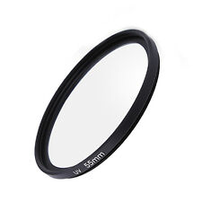 55mm UV Ultra-Violet Filter Lens Protector for Nikon Sony Canon Pentax Olympus