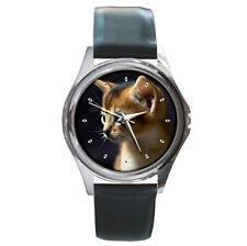 Cute Cat Kitten wrist leather watch cat watch