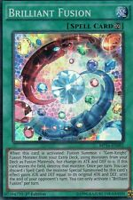 MP16 - EN082 BRILLIANT FUSION  - SUPER RARE  1st EDITION