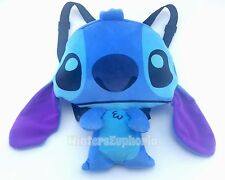 Kids Plush Backpack Disney Lilo and Stitch Flat Bag 15 inches