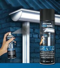 LEAKSEAL Clear SPRAY seals leaks cracks on PVC metal concrete felt roofs masonry