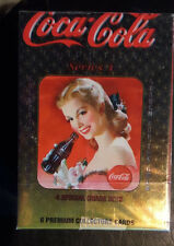 COKE SERIES 4 TRADING CARDS COMPLETE SET COLLECT A CARD COCA COLA