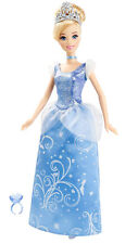 "DISNEY PRINCESS CINDERELLA 12"" DOLL w RING FOR YOU by MATTEL NEW"